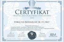 certyfikat 2152-IBA-12-2015